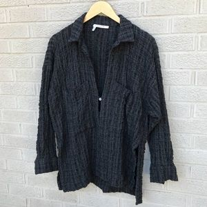 10 Crosby Derek Lam Textured Wool Blend Top
